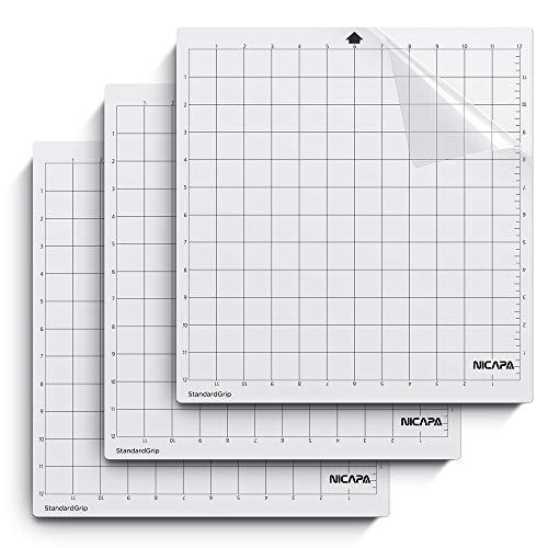 ... Standardgrip,12x12 inch,3pack Nicapa Cutting Mat for Silhouette Cameo 3//2//1